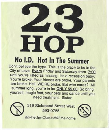23 Hop Flyer