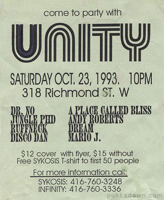 Unity Toronto Rave